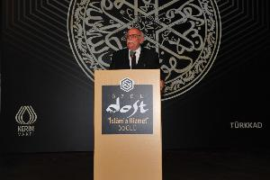 Minister Avc� participates in the Special Friend Service to Islam Awards ceremony