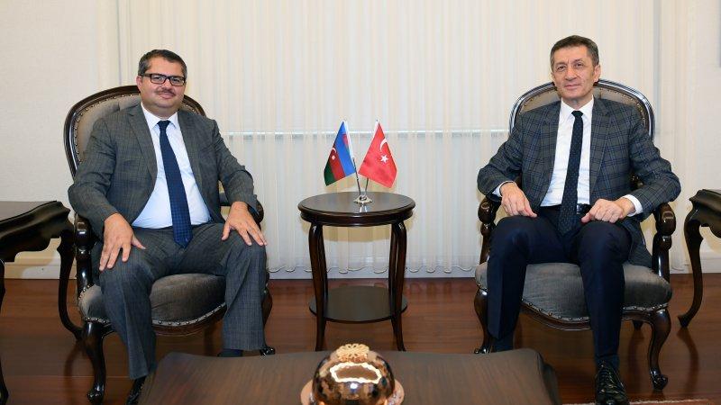 Bakan Selçuk, Azerbaycan Büyükelçisi İbrahim´i kabul etti