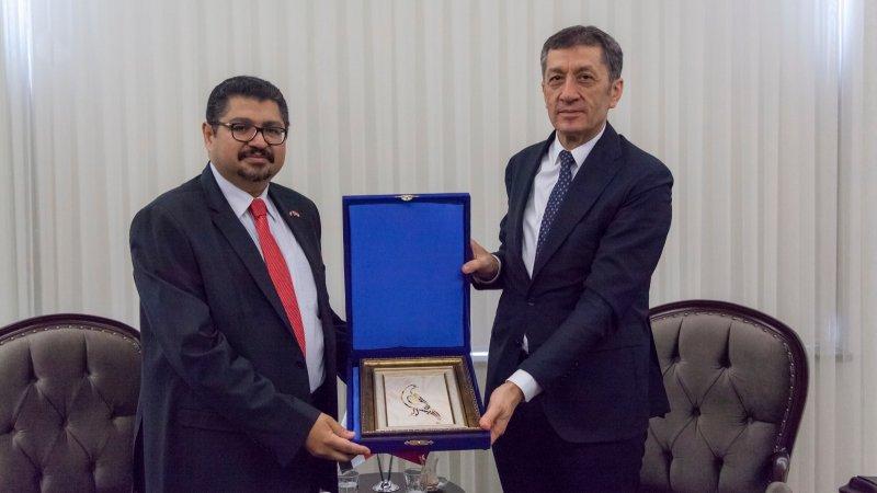 Bakan Selçuk, Sudan Büyükelçisi Kordofani´yi kabul etti