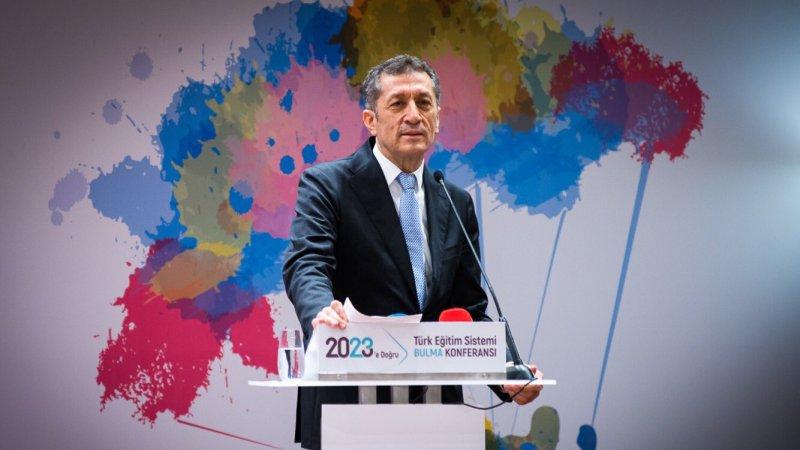 """Bakan Selçuk, 2023´e Doğru Türk Eğitim Sistemi """"Bulma Konferansı""""na katıldı"""